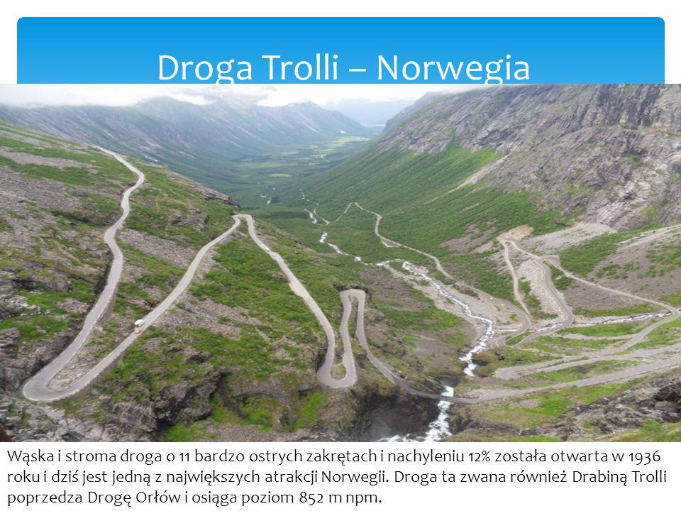 Droga Trolli – Norwegia