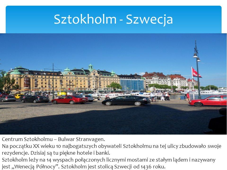 Sztokholm - Szwecja
