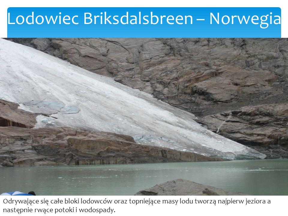 Lodowiec Briksdalsbreen – Norwegia