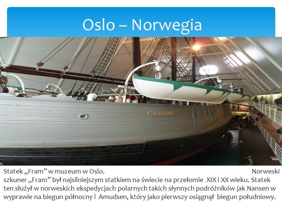 Oslo – Norwegia