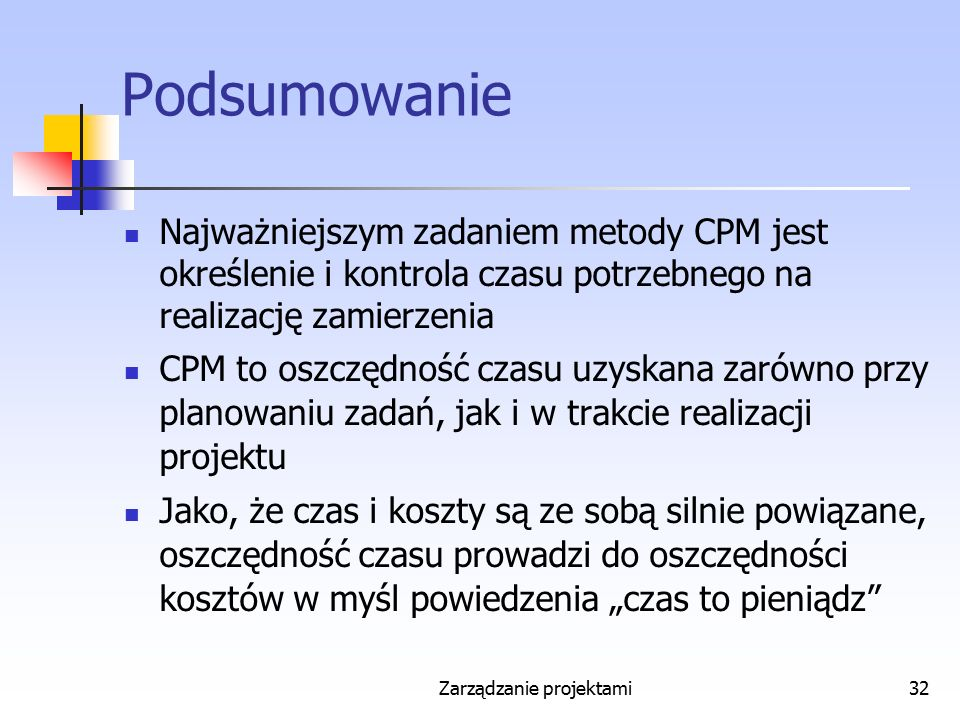 Zarządzanie projektami