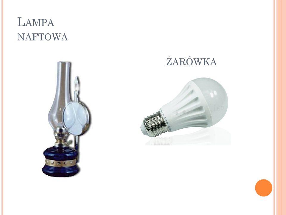 Lampa naftowa żarówka