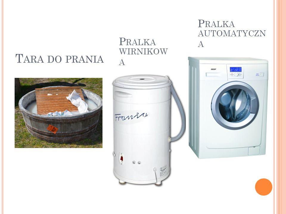 Pralka automatyczna Pralka wirnikowa Tara do prania