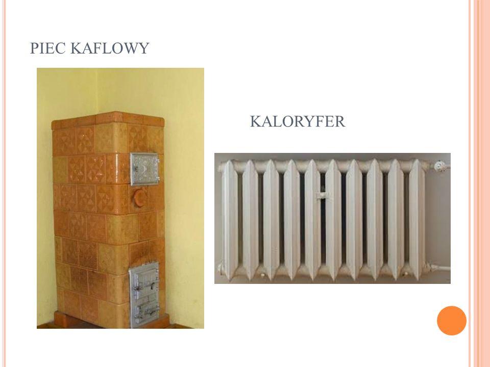 piec kaflowy kaloryfer