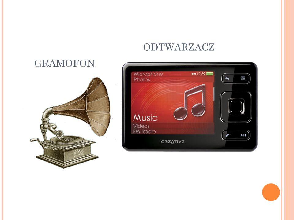 odtwarzacz gramofon
