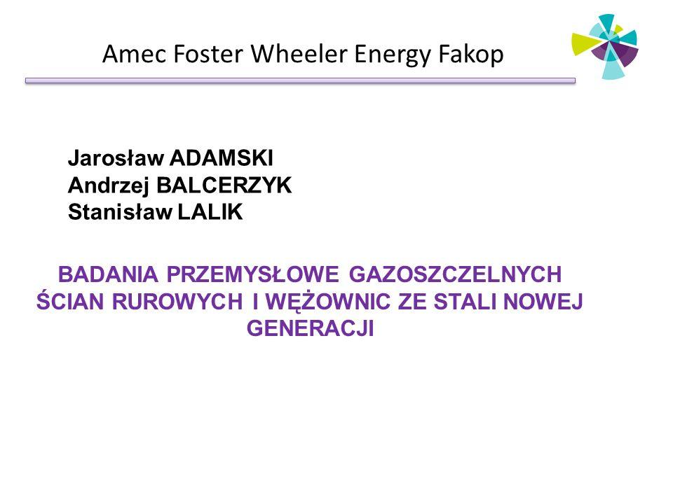Amec Foster Wheeler Energy Fakop