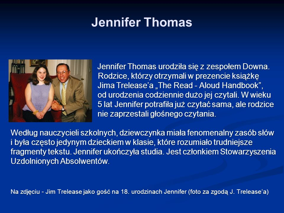 Jennifer Thomas