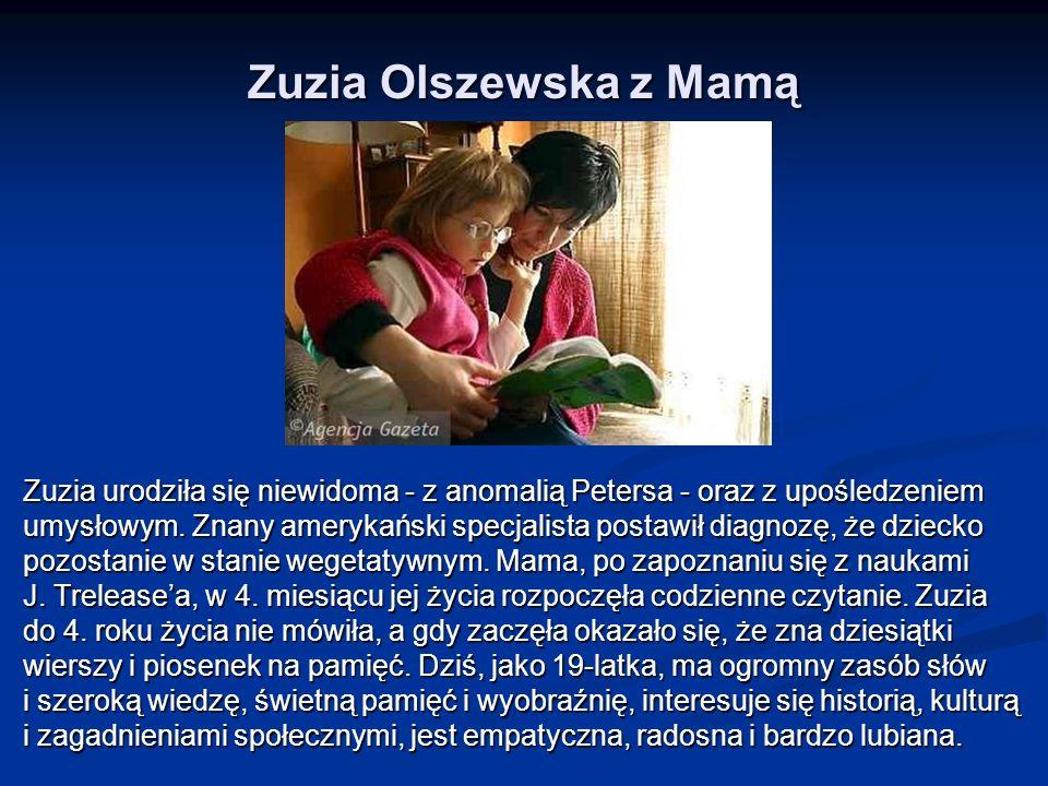 Zuzia Olszewska z Mamą