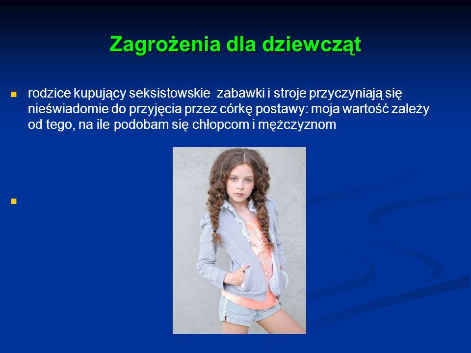 Zagrożenia dla dziewcząt