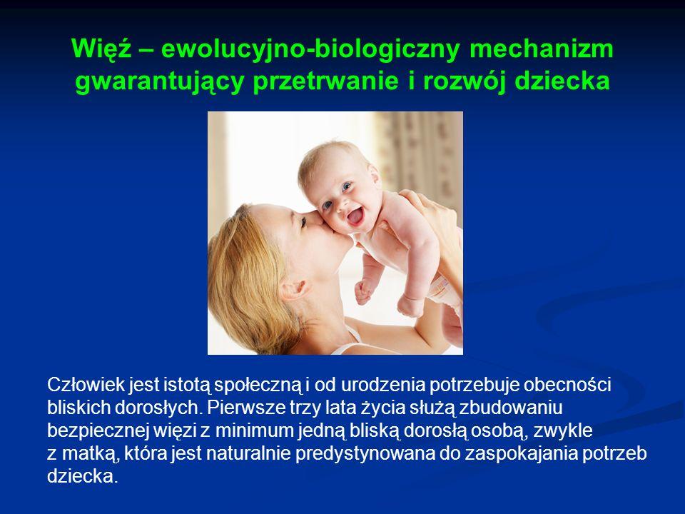 Więź – ewolucyjno-biologiczny mechanizm gwarantujący przetrwanie i rozwój dziecka