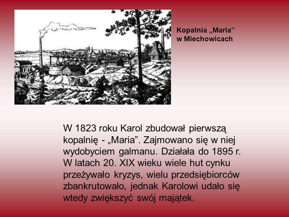 """Kopalnia """"Maria w Miechowicach."""