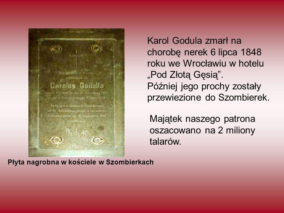 Później jego prochy zostały przewiezione do Szombierek.