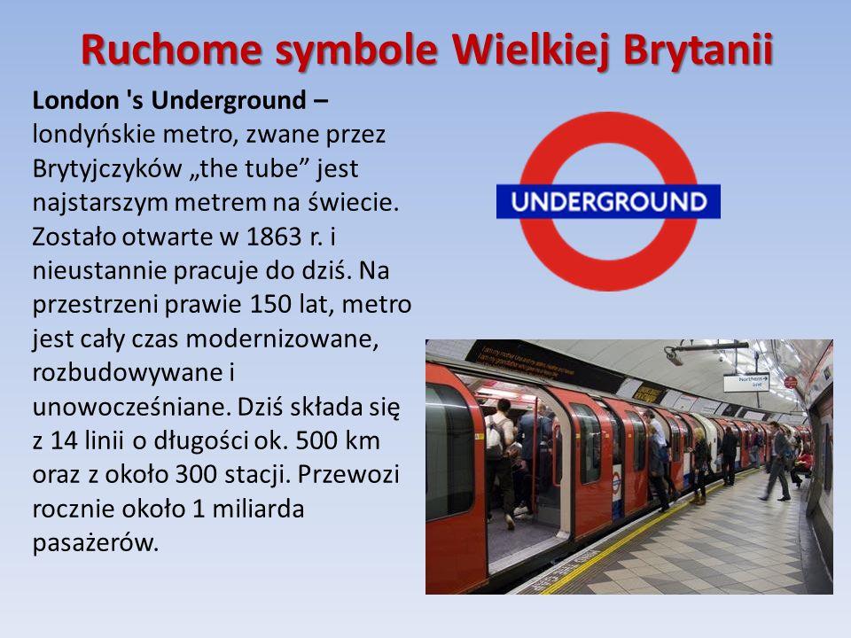 Ruchome symbole Wielkiej Brytanii