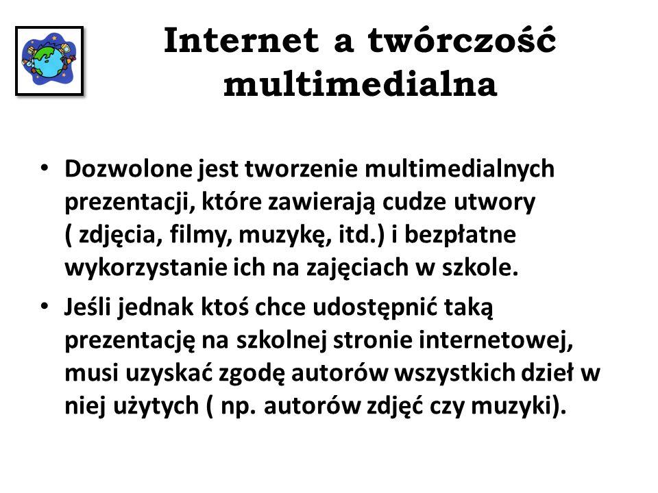 Internet a twórczość multimedialna