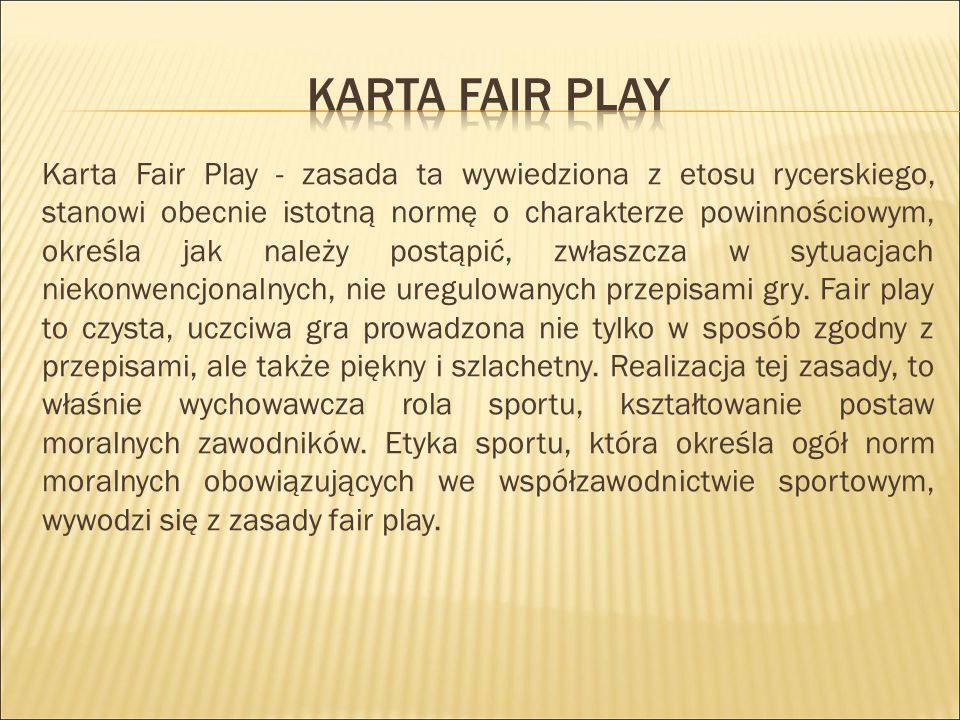 Karta fair play