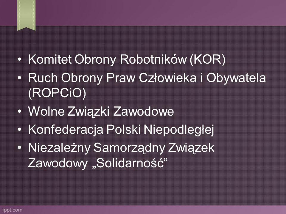 Komitet Obrony Robotników (KOR)