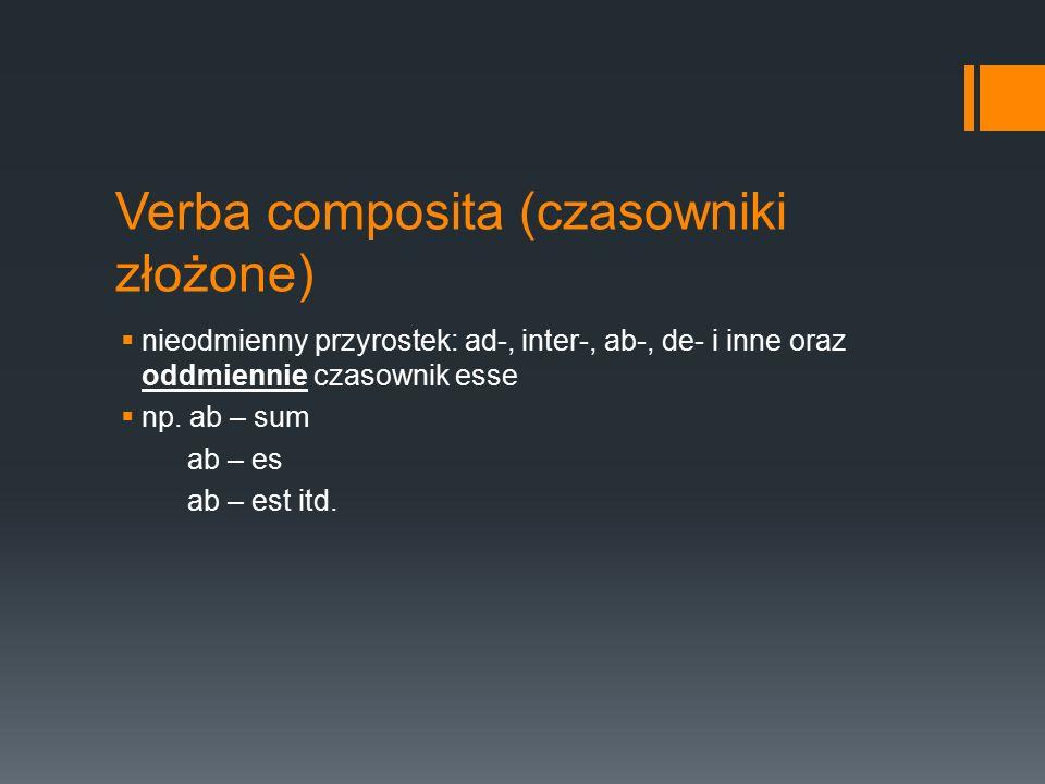 Verba composita (czasowniki złożone)