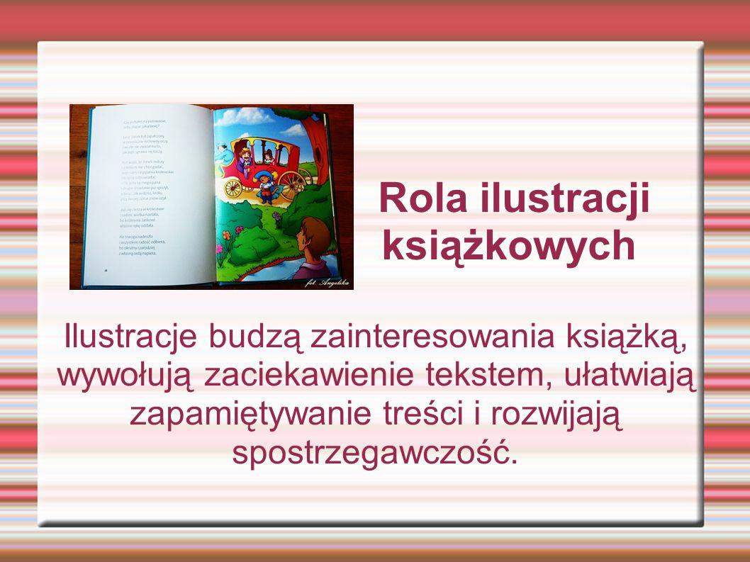 Rola ilustracji książkowych