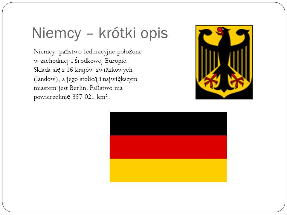Niemcy – krótki opis