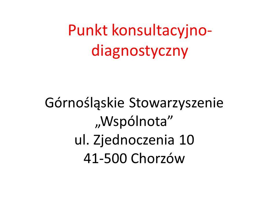 Punkt konsultacyjno-diagnostyczny