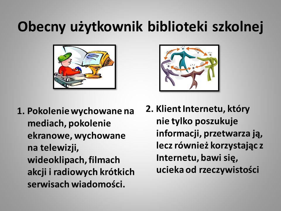 Obecny użytkownik biblioteki szkolnej