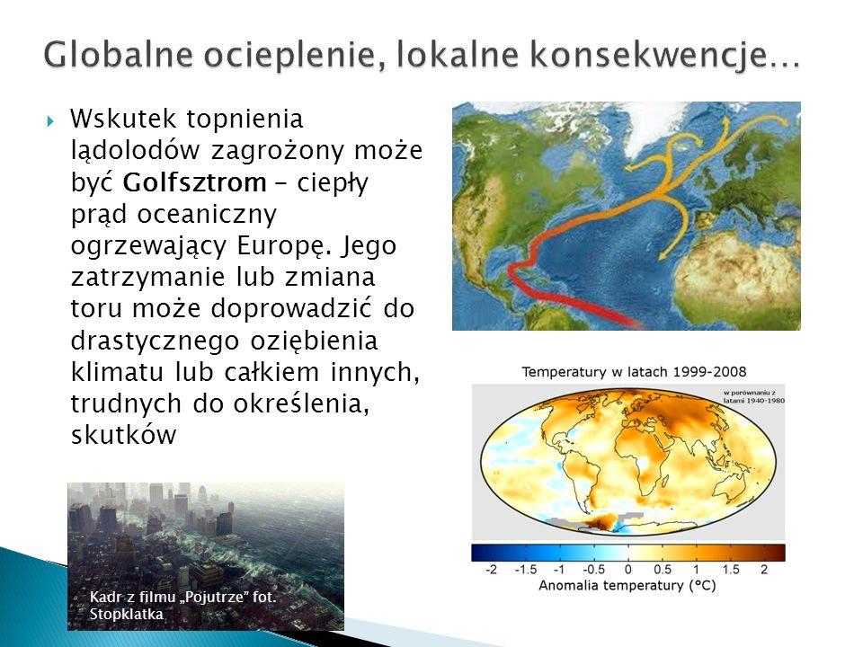 Globalne ocieplenie, lokalne konsekwencje…