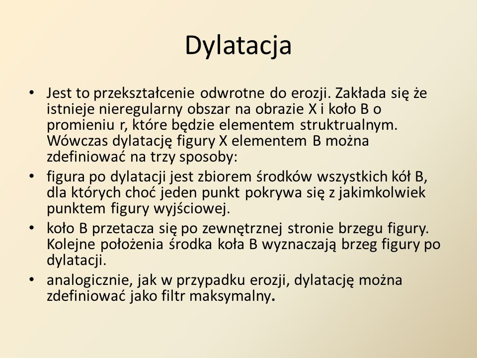Dylatacja