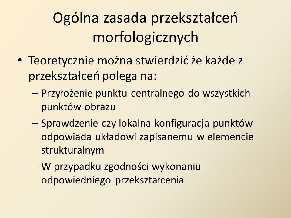 Ogólna zasada przekształceń morfologicznych