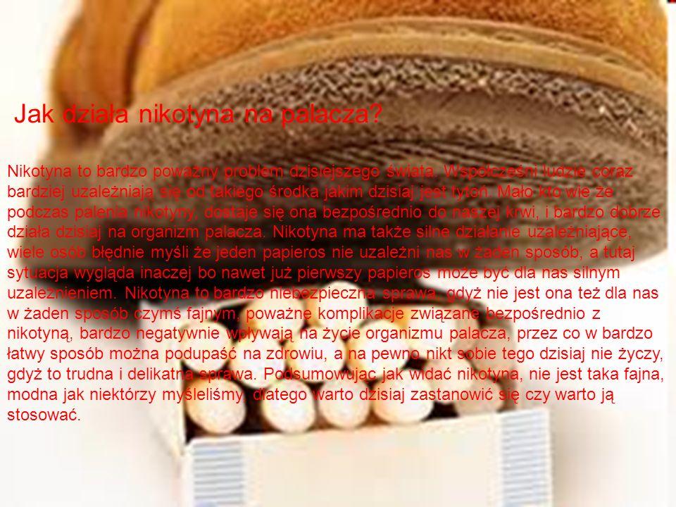Jak działa nikotyna na palacza