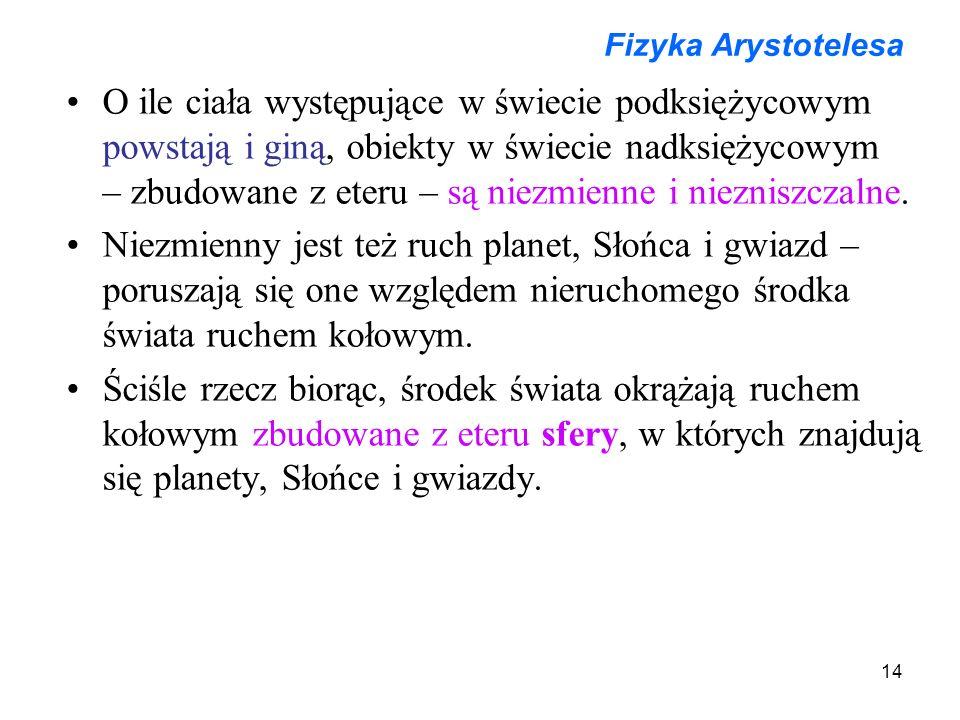 Fizyka Arystotelesa