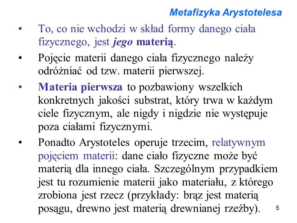 Metafizyka Arystotelesa