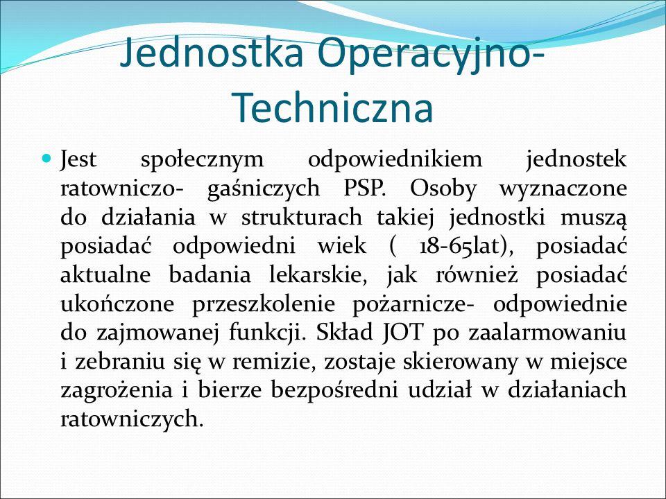 Jednostka Operacyjno- Techniczna