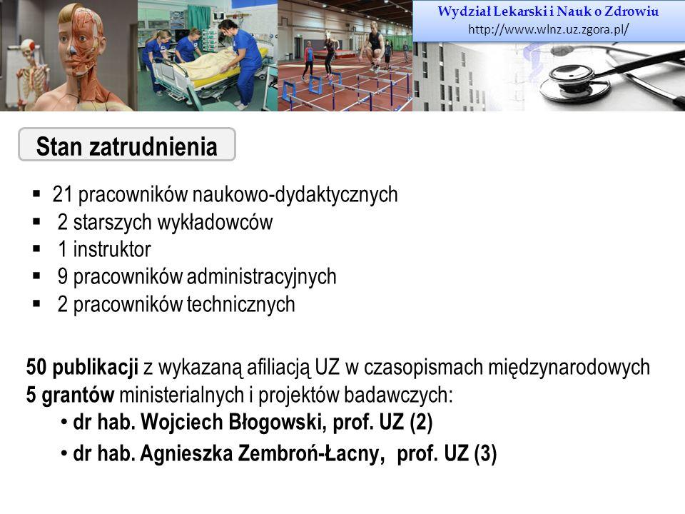Wydział Lekarski i Nauk o Zdrowiu