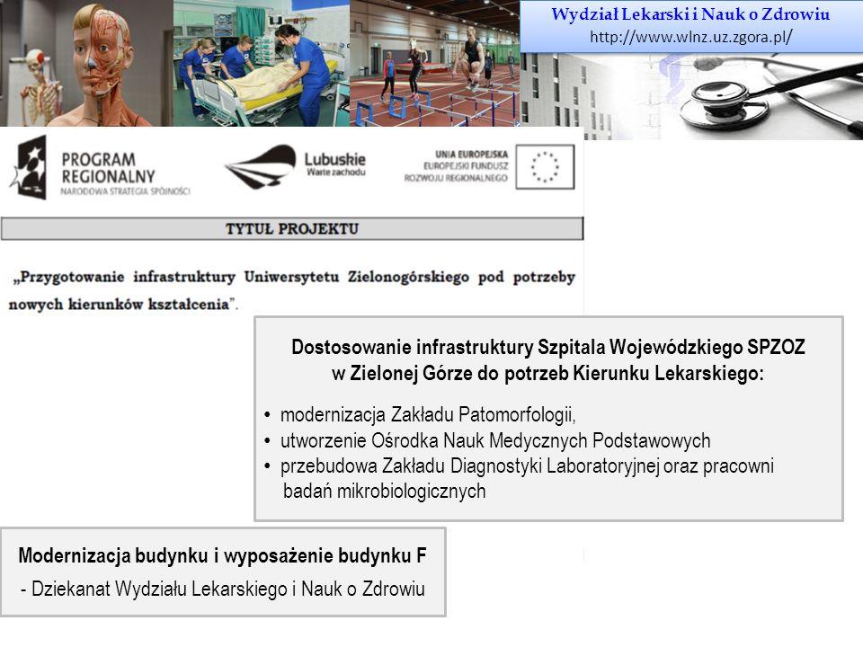 Dostosowanie infrastruktury Szpitala Wojewódzkiego SPZOZ