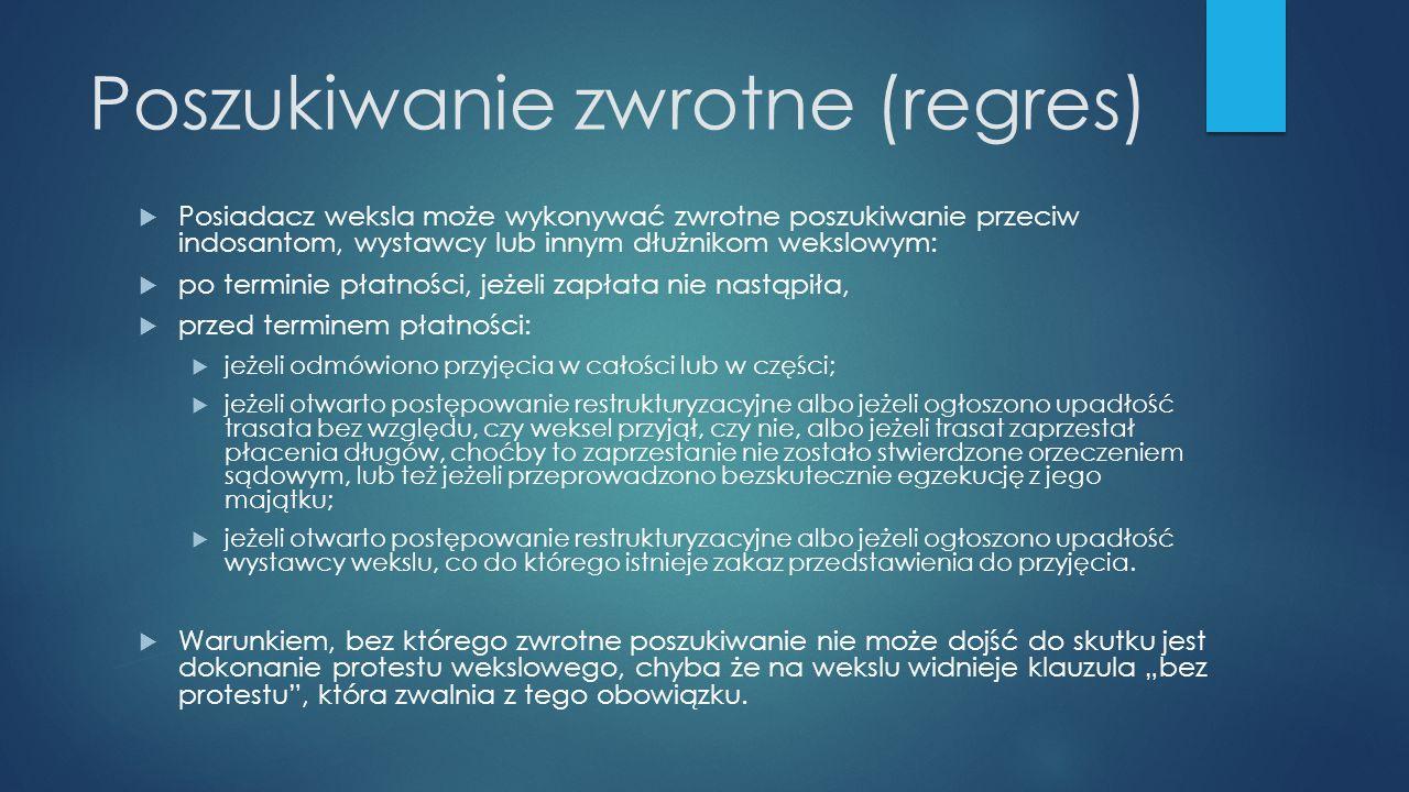 Poszukiwanie zwrotne (regres)
