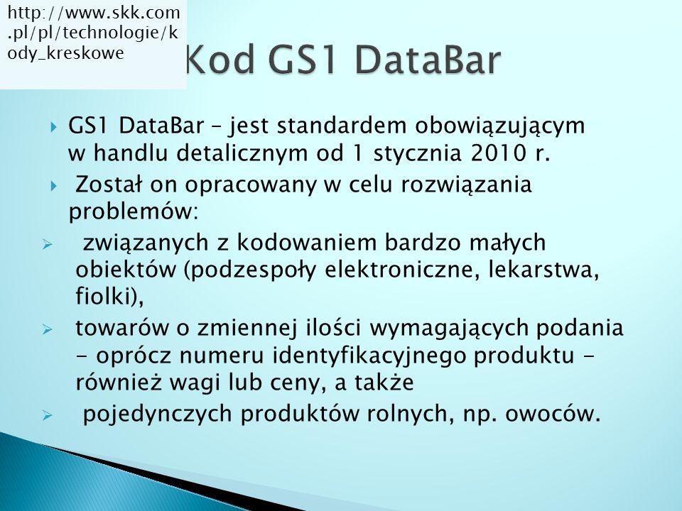 http://www.skk.com.pl/pl/technologie/kody_kreskowe Kod GS1 DataBar.