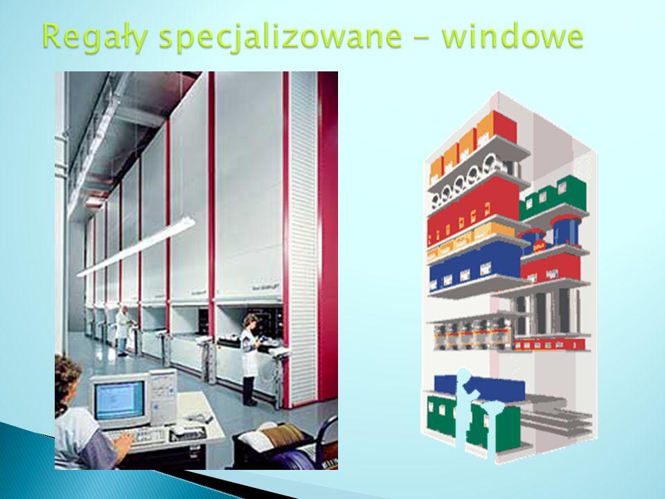 Regały specjalizowane - windowe