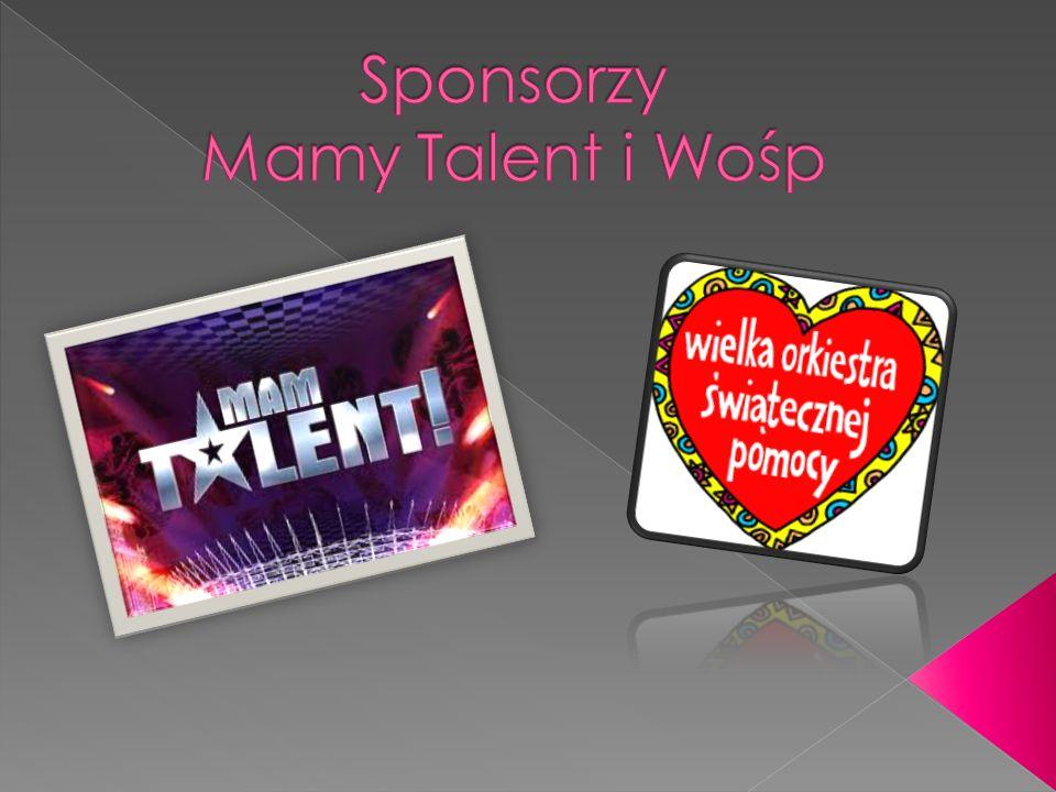 Sponsorzy Mamy Talent i Wośp