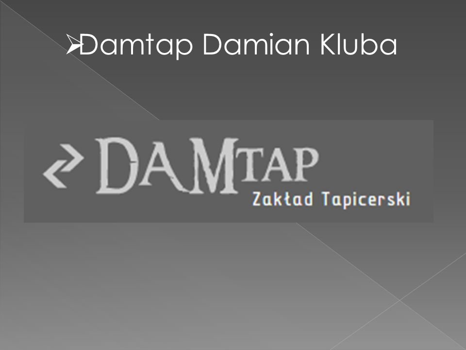 Damtap Damian Kluba