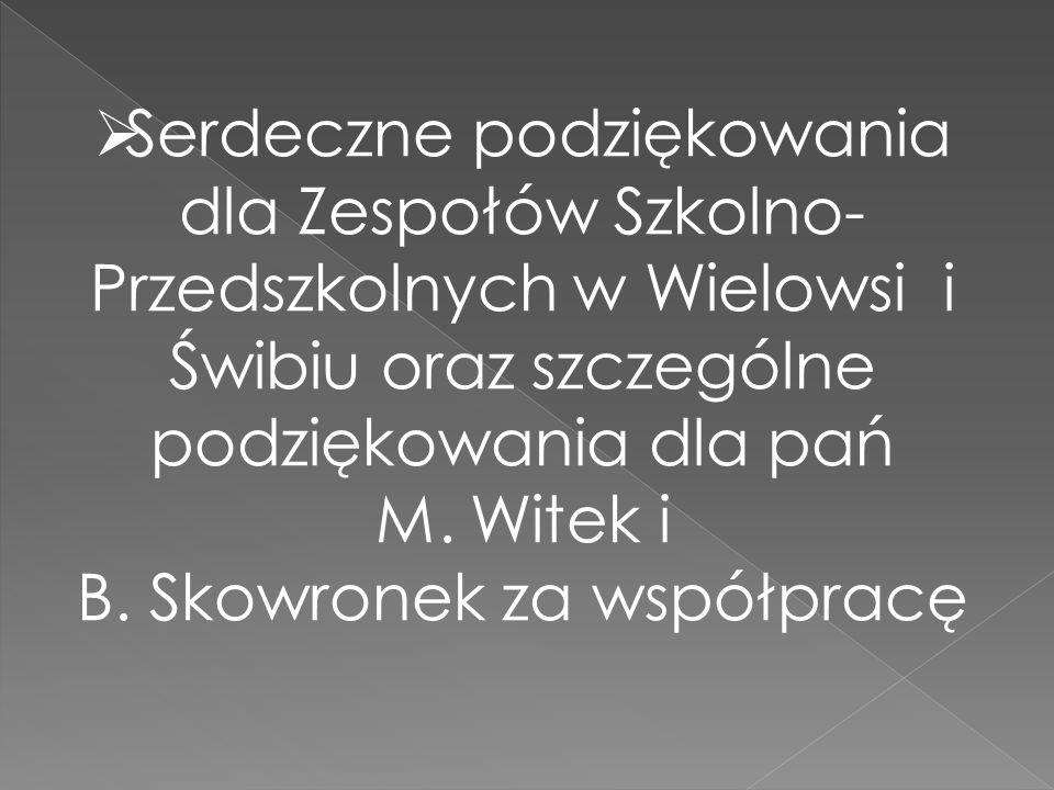 B. Skowronek za współpracę