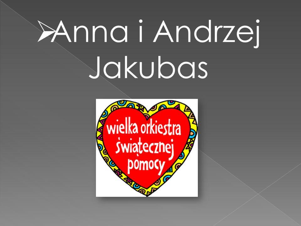 Anna i Andrzej Jakubas