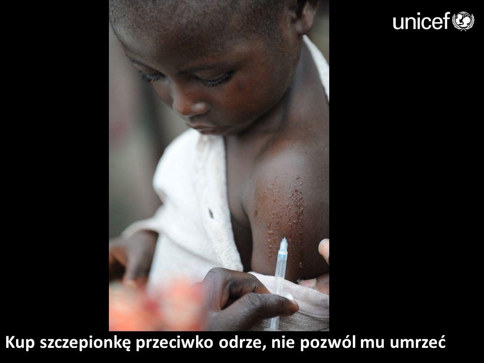 Kup szczepionkę przeciwko odrze, nie pozwól mu umrzeć