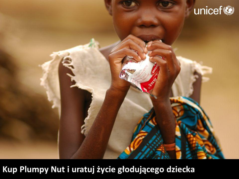 Kup Plumpy Nut i uratuj życie głodującego dziecka