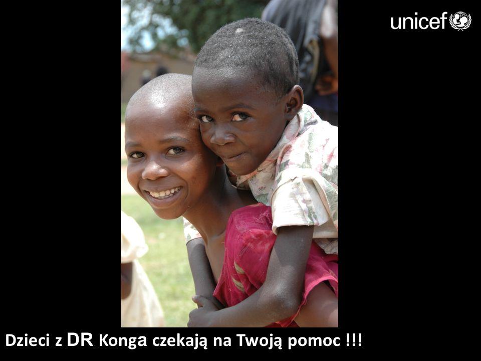 Dzieci z DR Konga czekają na Twoją pomoc !!!