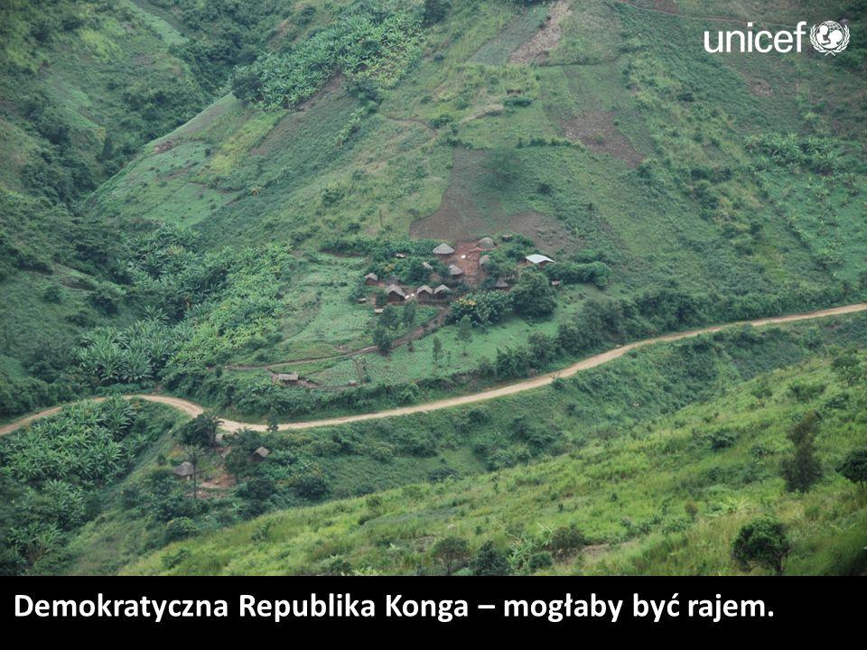Demokratyczna Republika Konga – mogłaby być rajem.