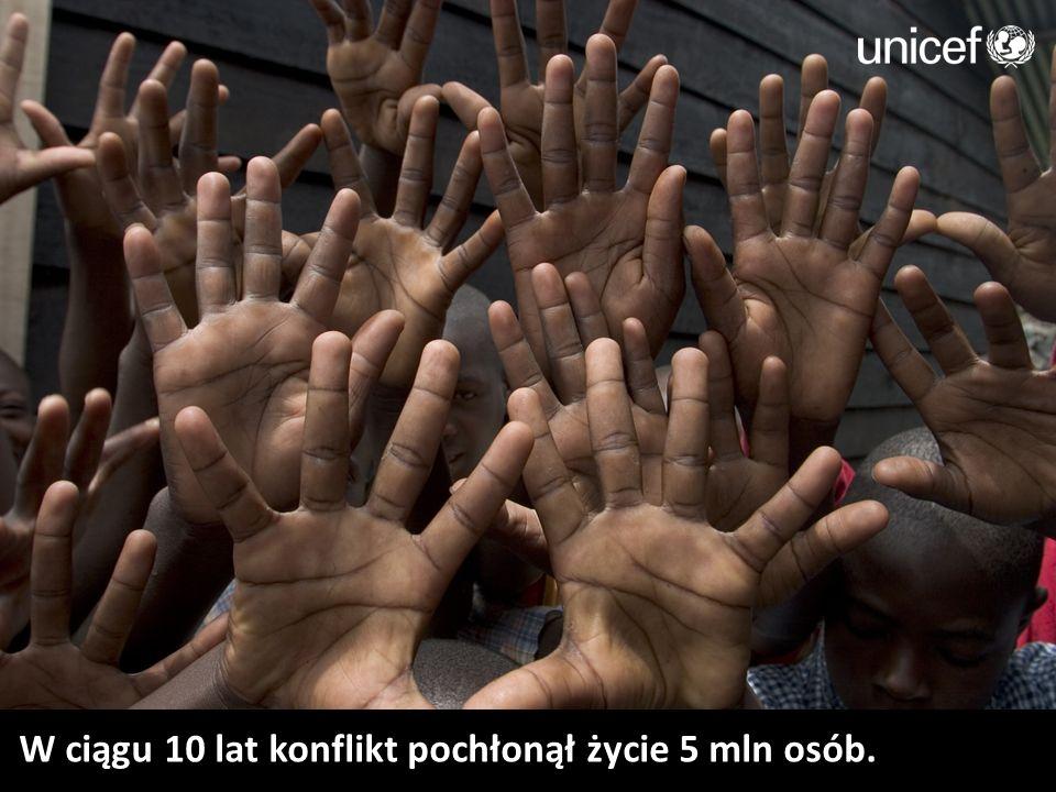 W ciągu 10 lat konflikt pochłonął życie 5 mln osób.
