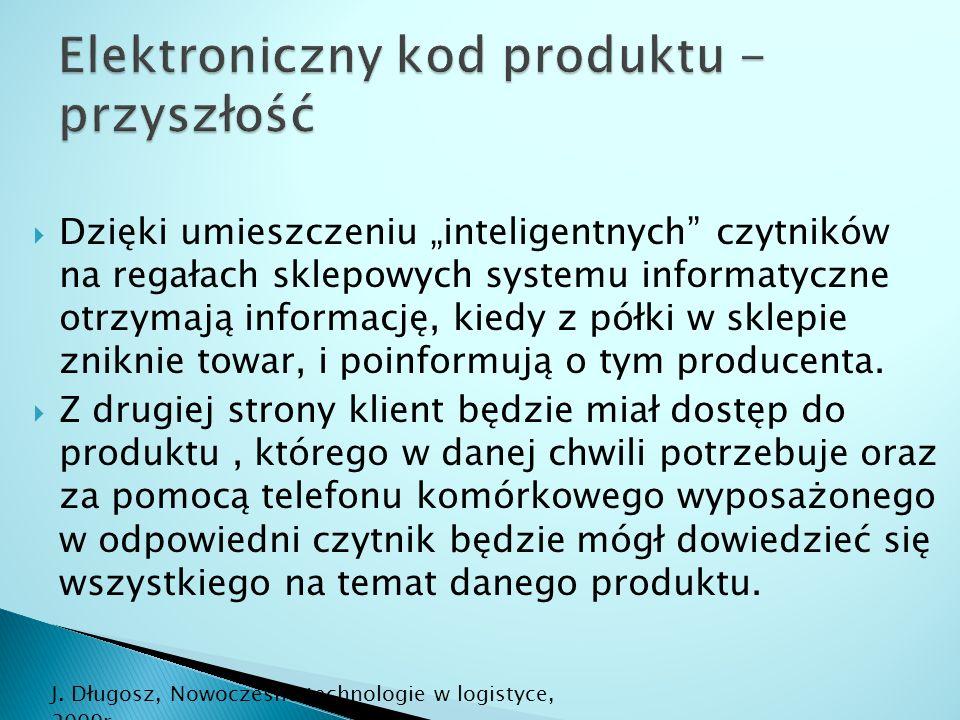 Elektroniczny kod produktu - przyszłość