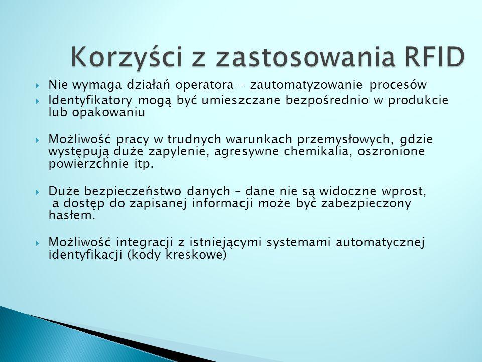 Korzyści z zastosowania RFID