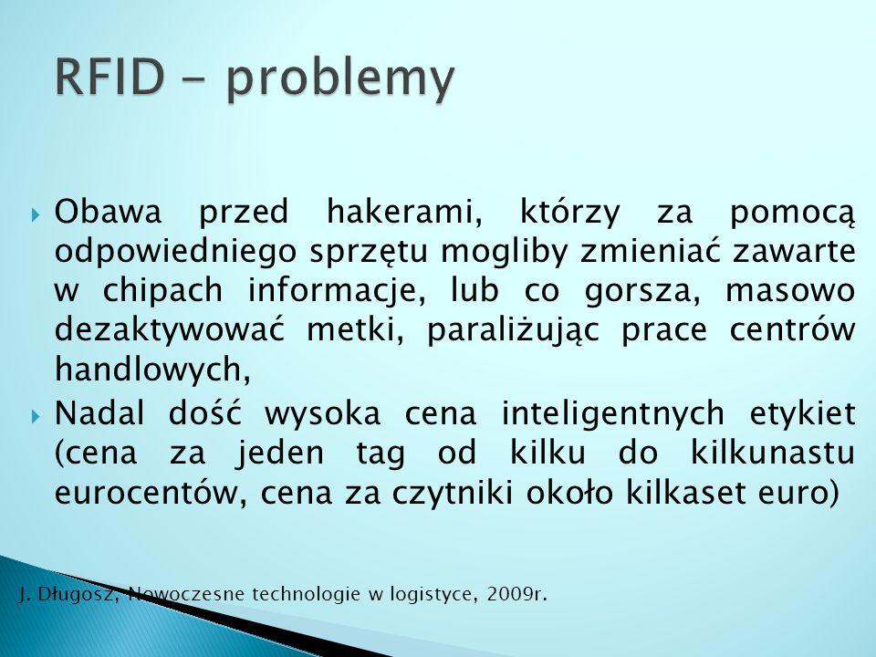RFID - problemy