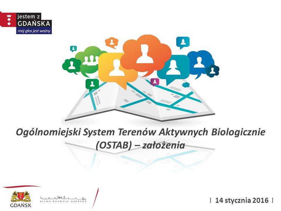 Ogólnomiejski System Terenów Aktywnych Biologicznie (OSTAB) – założenia
